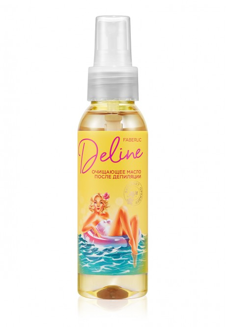 Deline Orchid and Murumuru Butter After-Depilation Cleansing Oil