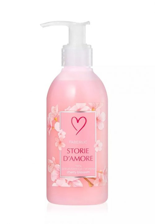 Storie d'Amore Intimate Hygiene Gel, Cherry Blossom
